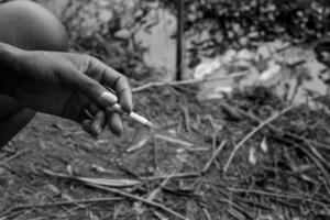 Rauchen foto