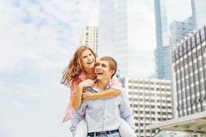 Liebe in der Stadt foto