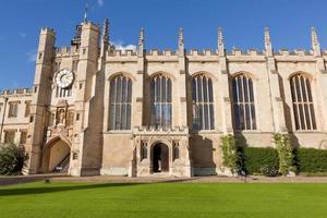 Trinity College der Cambridge University, Großbritannien foto