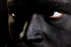 schwarzes Gesicht foto