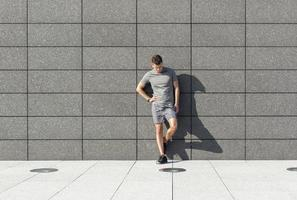 Fitness im Freien foto