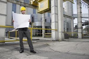 Wirtschaftsingenieure vor Ort foto