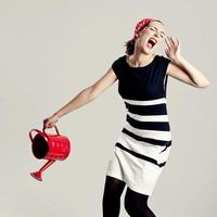 Modefrau foto
