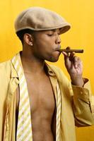 Royce mit Zigarre 2 foto