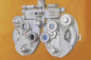 Optiker Dioptrie foto