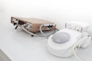 zahnärztliche Ausrüstung, isoliert foto