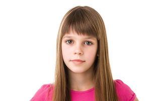 junges junges Mädchen foto