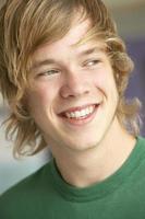 Porträt des Teenagers foto