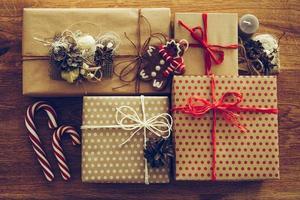 Weihnachtsset. foto