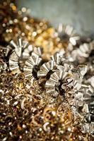 CNC-Metallspäne foto