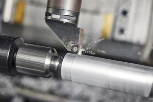 Schneidwerkzeug bei der Metallbearbeitung