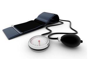 medizinisches Blutdruckmessgerät foto