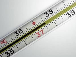 medizinisches Thermometer foto