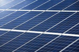 Photovoltaik-Modul zur Stromerzeugung Textur oder Muster