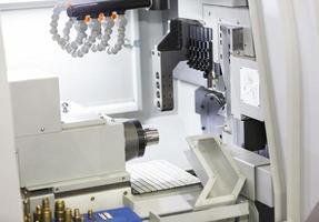 CNC-Drehmaschine foto