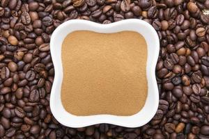 Kaffeepulver foto