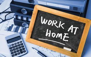 Zuhause arbeiten foto