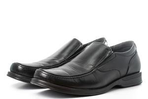 Mann Schuhshow für Kunden wählen foto