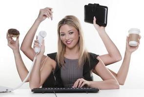 Multitasking foto