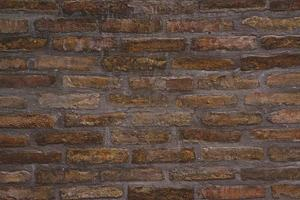 Hintergrundmuster der alten Backsteinmauerbeschaffenheit foto