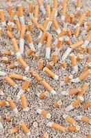 Zigaretten Chaos von oben