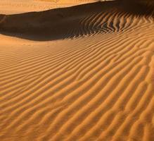 Wellen aus Sand foto