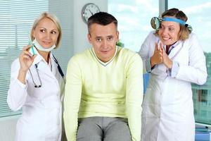 unglücklicher Patient foto