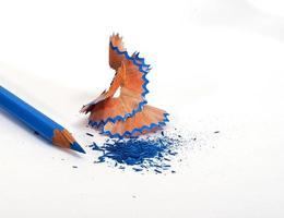 Bleistiftschnitzel foto
