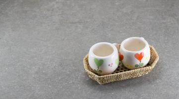 kleine Tassen. foto
