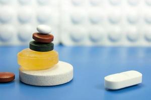 Pillen und Medikamente foto