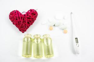 Medikamente für das Herz foto