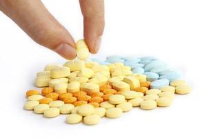 Zusammensetzung der Tabletten foto