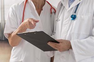 Menschen aus dem Gesundheitswesen und der Medizin foto
