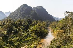 vietnamesischer Dschungel, Phong Nha foto