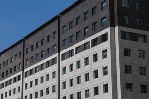 Architekturdetails, Fenster. Unternehmensarchitektur, Wolkenkratzer foto