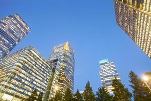 Wolkenkratzer Geschäftsbüro, Firmengebäude in London City, England, Großbritannien foto