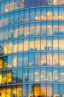 Fenster Wolkenkratzer Geschäftsbüro, Firmengebäude in London, England, Großbritannien foto