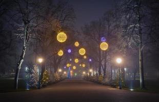 Weihnachtsstraße foto