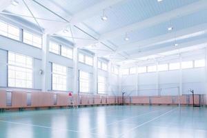 drinnen Tennisplatz foto