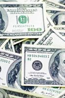 amerikanische Dollarnoten foto