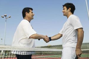 Tennisspieler foto