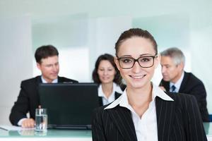 Unternehmensförderung und Führung foto