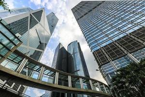 Firmengebäude in Hongkong