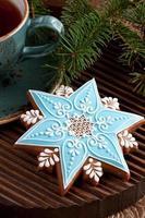 Weihnachtslebkuchenplätzchen