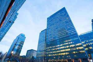 Wolkenkratzer Geschäftsbüro, Firmengebäude in London City, England, Großbritannien
