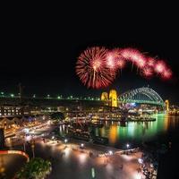 Sydney Silvester Feuerwerk