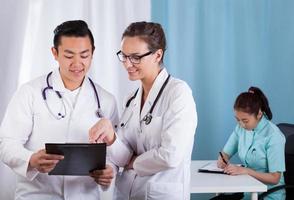 in der Arztpraxis arbeiten