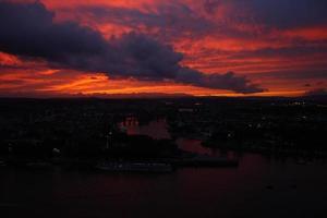Abendwolken foto