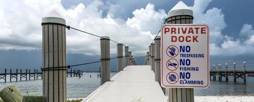 privates Dock foto
