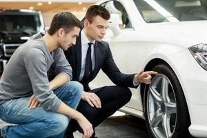 Schau dir diese Reifen an! foto